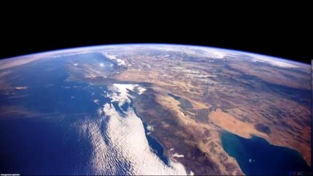 Nuestra hermosa Tierra vista desde el espacio