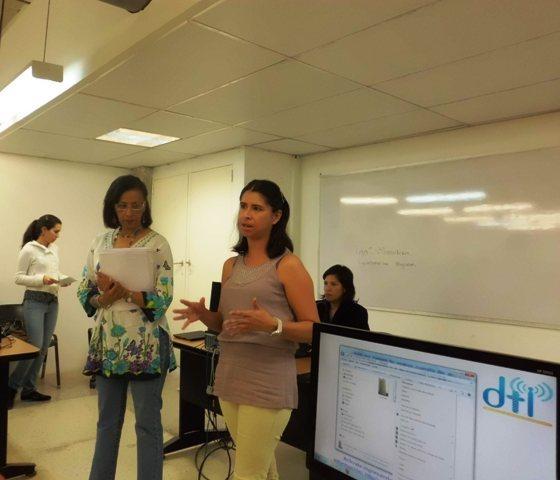 Licenciada Gisela Rodríguez, Taller Herramientas Digitales Tu Voz es Noticia