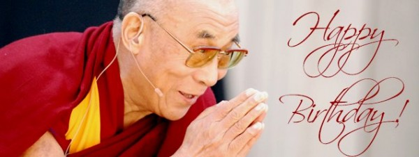 Dalai Lama celebra su cumpleaños