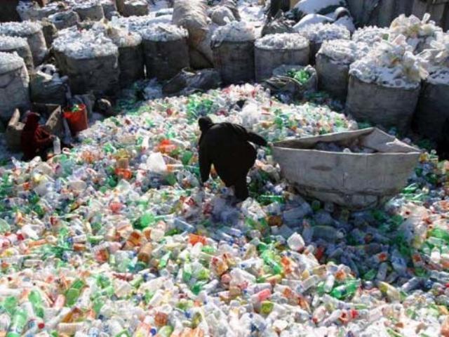 Un mundo de plástico ha creado el ser humano