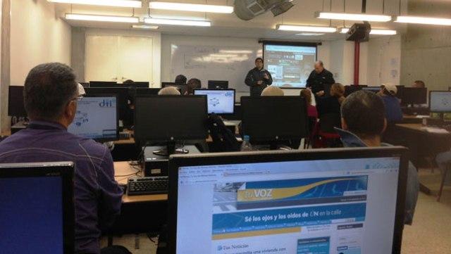 25 estudiantes tiene el Curso de Formación de Ciudadanos Multimedia. Foto Gisela Rodríguez