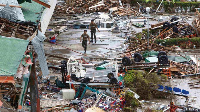 La devastación causada por el Tifón en Filipinas, un tema que hizo saltar lágrimas al delegado de ese país en la Conferencia