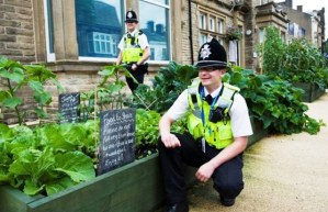 """La estación de Policía tiene su huerto muy """"custodiado"""""""