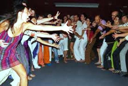 Compartiendo sentimiento y movimiento. Foto cortesía Myrna Rondó