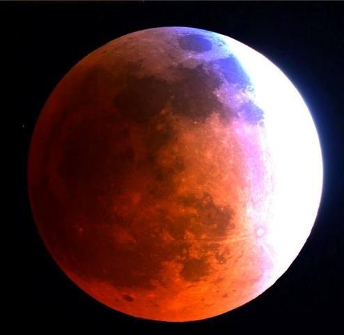 El eclipse desde Arizona, EEUU. Foto cortesía space.com