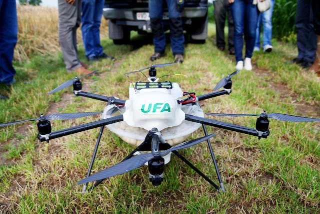 Dron de UFA
