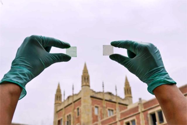 La UCLA también ha producido sus células fotovoltaicas transparentes