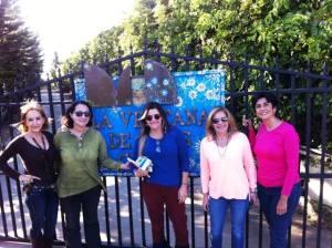 De izquierda a derecha: Raiza Perrault, Nidia Hernández, marlene Rodríguez de Montaner, marcia Rodríguez de Pallí, Marisela Valero