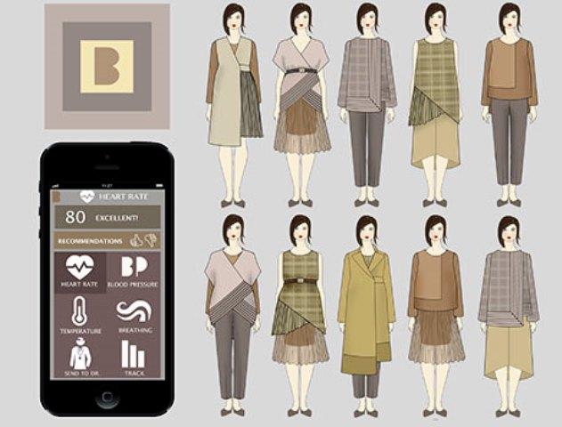 Linea de moda ecointeligente  para embarazadas