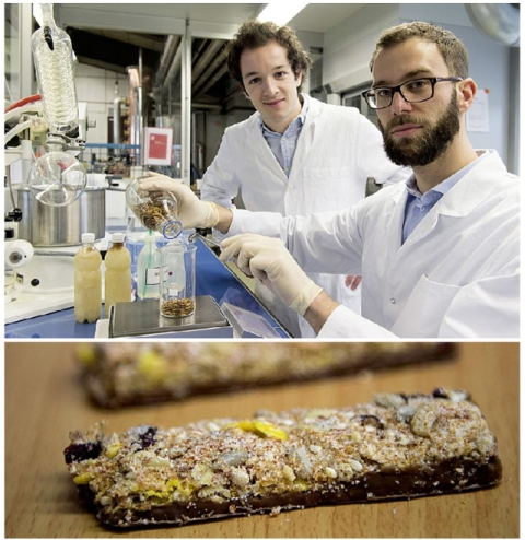 Koch Y Klettenhammer en su laboratorio experimental. Foto ZHAW