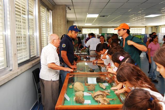 Los niños disfrutan de visitas guiadas en el Museo del Instituto de Zoología Agrícola de la Facultad de Agronomía de la Universidad Central de Venezuela. Foto cortesía Marco Gaiani