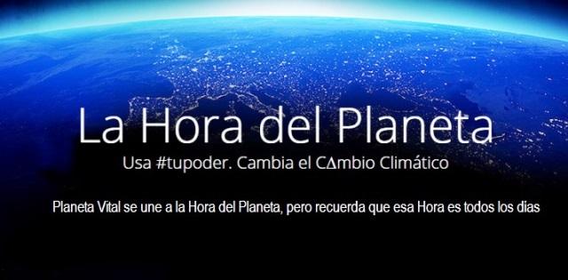 La Hora del Planeta es todos los días