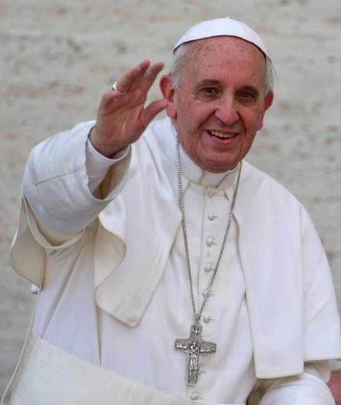 El papa Francisco, carismático