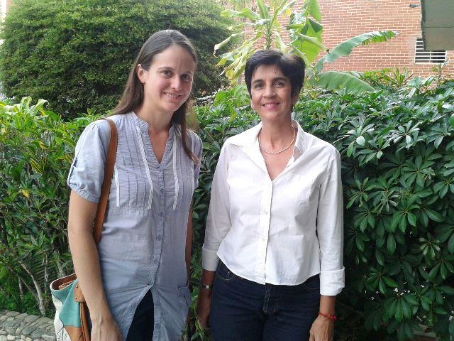 Bibiana Sucre, de PROVITA y Marisela Valero, Directora de Planeta Vital. Foto Nidia Hernández