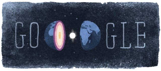 Doodle de Google 127.º aniversario del nacimiento de Inge Lehmann