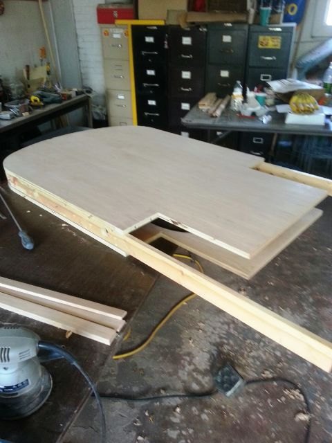 Parte de la Silla en plena fabricación. Foto: mariana Lozada