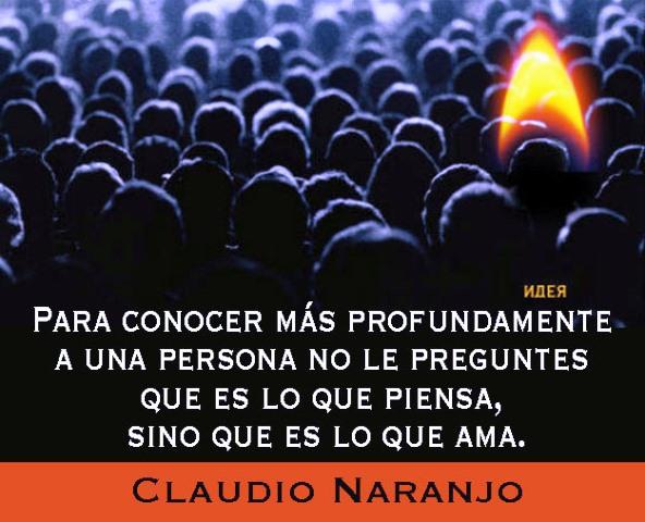 Frase de Claudio Naranjo