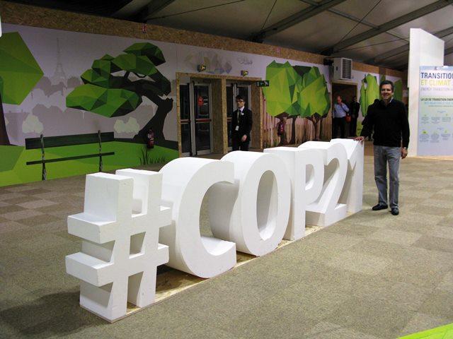 El Dr. Sánchez en la COP21 de París