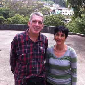 Mario Dominguez con Marisela Valero. Foto Angel Acevedo