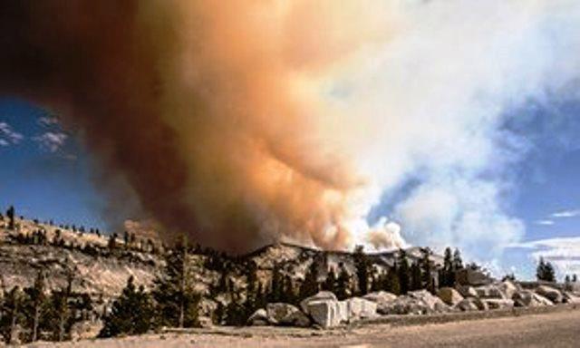 Incendio en Yosemite