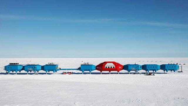 Halley VI, estación británica en la Antártida