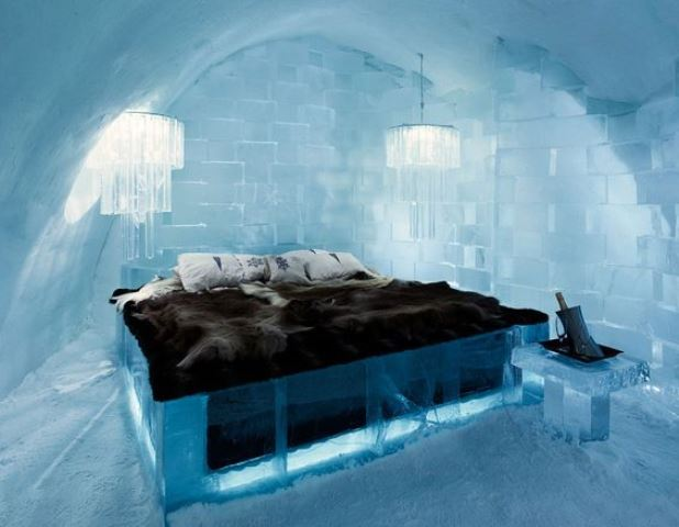 El Icehotel sueco en Jukkasjarvi