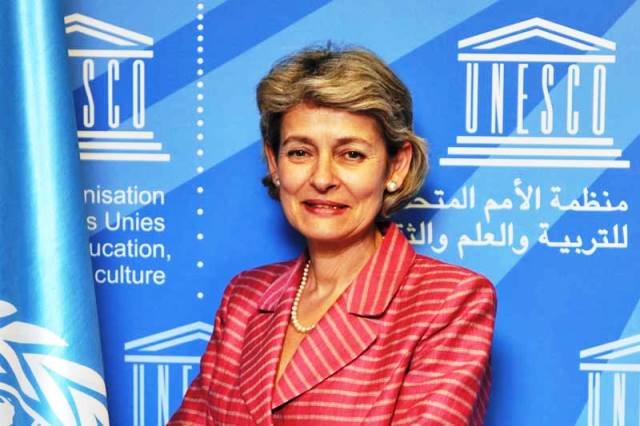 Irina Bokova Secretaria General de la ONU