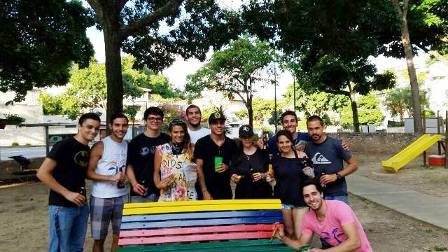 Jóvenes curumeños comprometidos con su comunidad