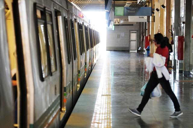 Estación de Metro en Brasilia