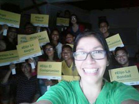 Hay mucha gente comprometida con la compasón dentor de Venezuela