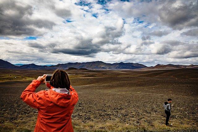 La desértica Islandia