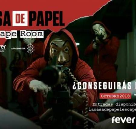 Scape Room La Casa de Papel