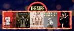 Agenda con los planning de teatro de la semana