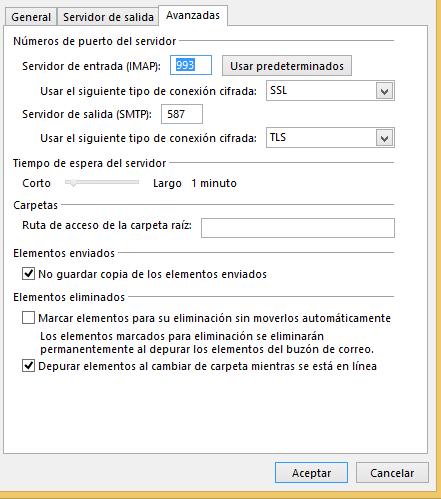 Correo IMAP 2