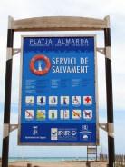 Platja d'Almardà, de l'Almardà 3