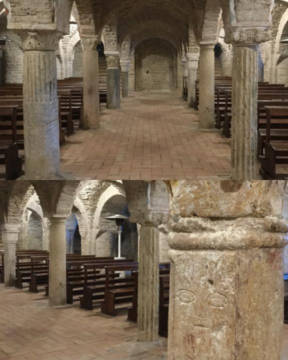 Monte Corona, cripta