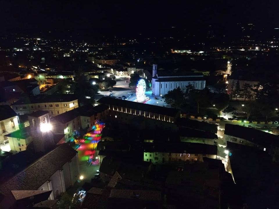 Vista dal palazzo dei consoli di Gubbio