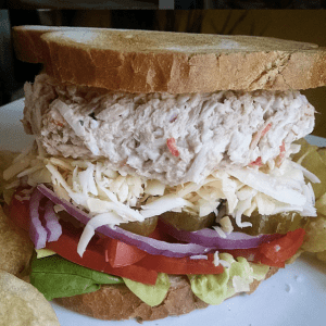 Tuna Crab Sandwich