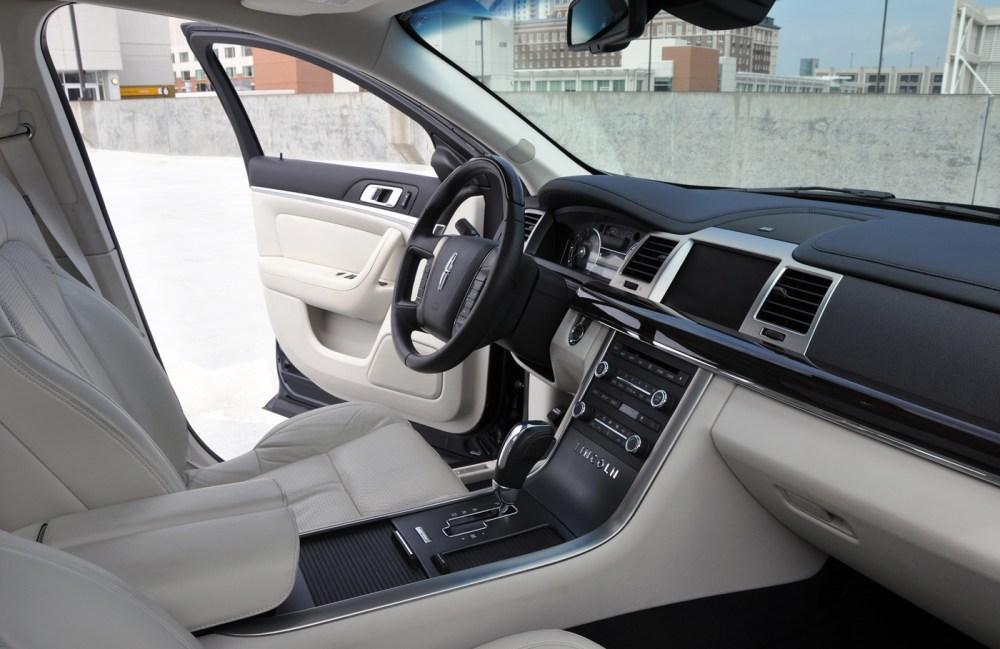 medium resolution of 2009 lincoln mkx interior