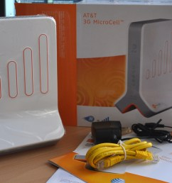 unboxing the at t 3g microcell [ 1400 x 940 Pixel ]