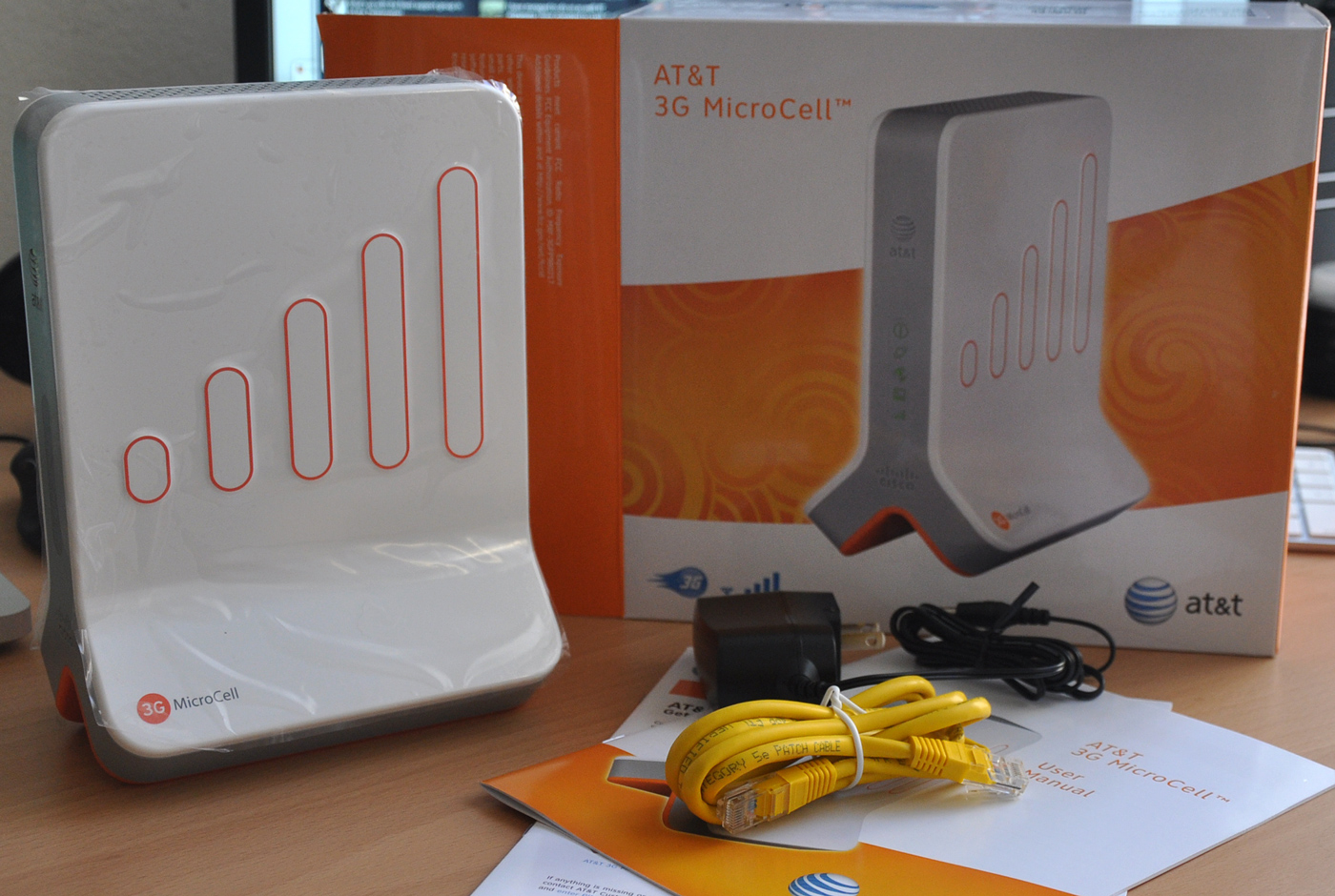 hight resolution of unboxing the at t 3g microcell