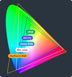 cie1931 color space comparisons prophoto rgb rec 2020 adobe rgb dci [ 1350 x 1425 Pixel ]