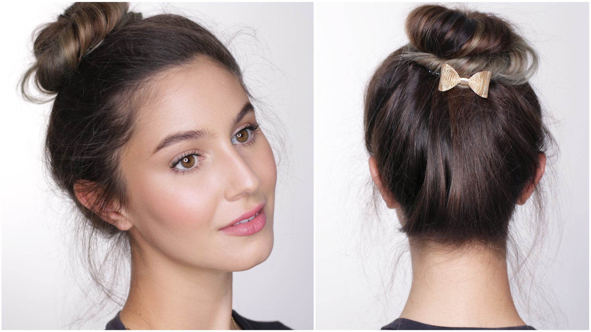 affordable back to school college hair makeup tutorial
