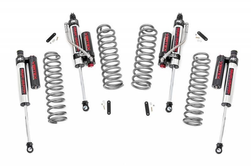 2.5in Jeep Suspension Lift Kit w/ Vertex Adjustable
