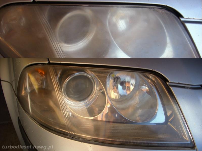 Jak Wypolerować Przednie Reflektory W Passacie Turbodiesel
