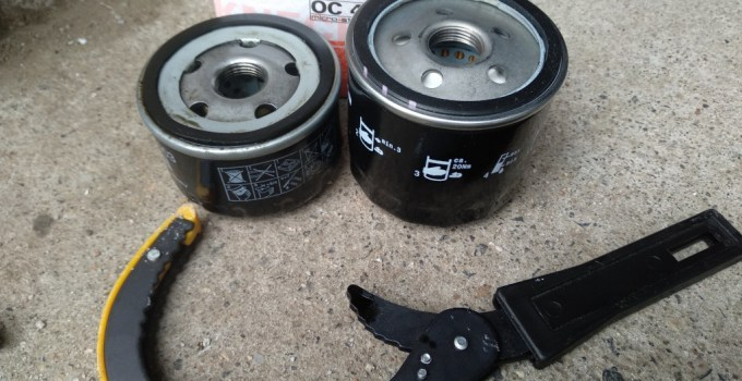 Filtr OC458 kontra W7003