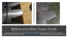 Turbo-Finish Before and after 2