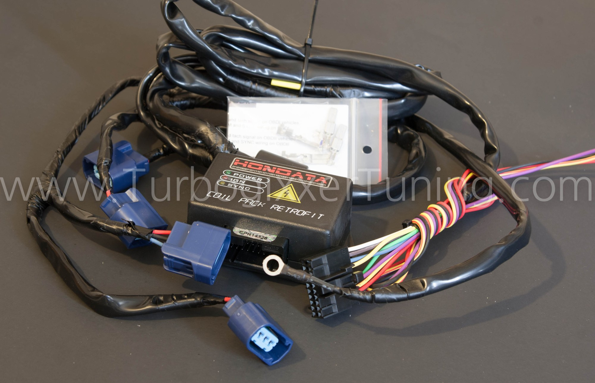 hight resolution of the hondata cpr comes with a wiring harness for your coil packs a coil pack