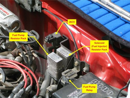 small resolution of fuel pump relay and resistor pack needed mr2 owners club message board