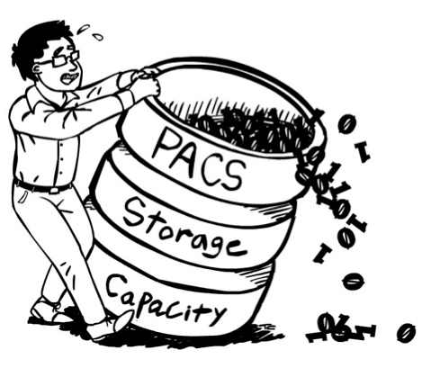 Storage Capacity Management for EMRs and PACS